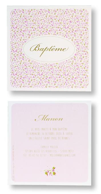 "Carte de baptême ""Liberty"" 577309"